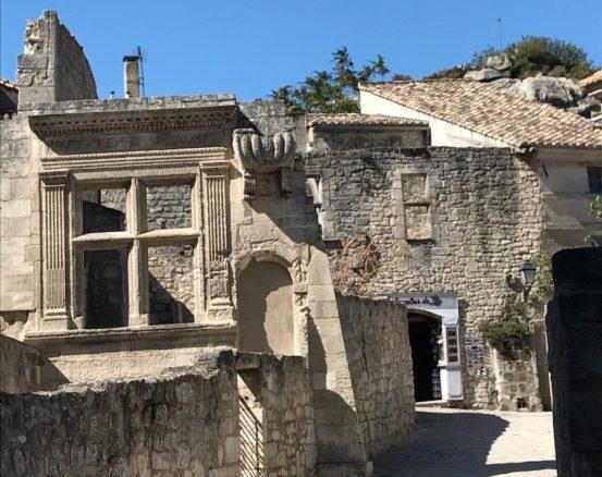 Buildings in Les Baux-de-Provence