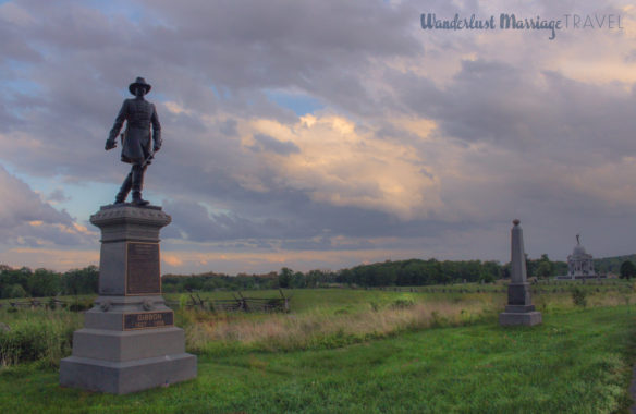 Pennsylvania monument on the Gettysburg Battlefield