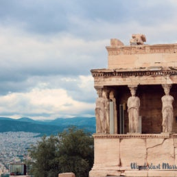 View of Athens with the Caryatides