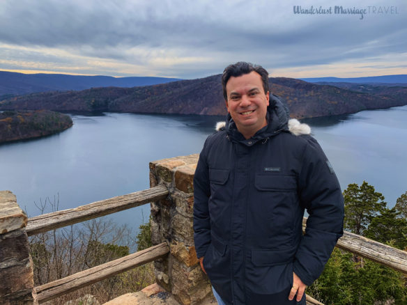 Alex at Raystown Lake overlook