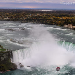 View of horseshoe fall from the tower