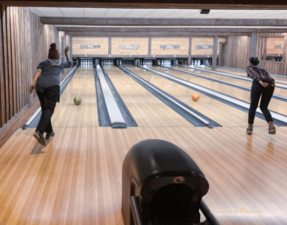 Bell bowling at seven springs