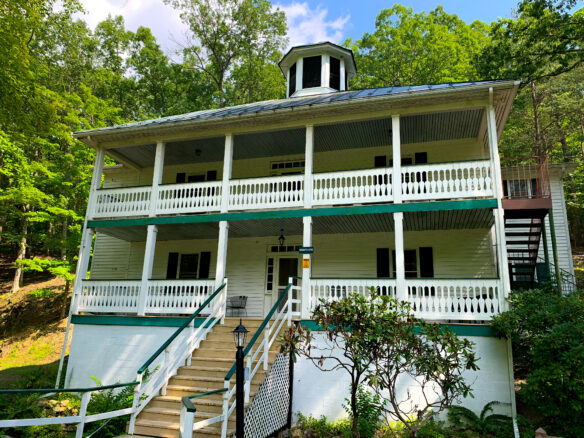 Hampshire Building at Capon Springs Resort