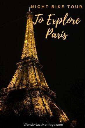 Pinterest Pin of Eiffel Tower